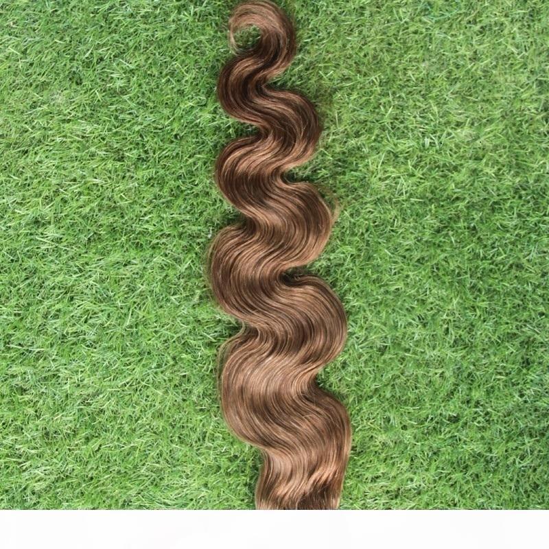 Популярные 1 шт. Волосы для тела Волны 100% Человеческие Пакеты волос 10-30 дюймов Перуанские Девственные Волосы плетения 6А Необработанные двойные уток
