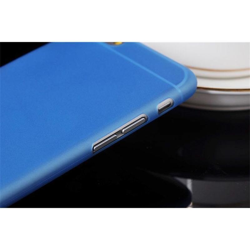 Custodia flessibile flessibile da 0.3mm sottile sottile matte per telefono X 10 8 6 6S 7 Plus 5 5s Sam Sung Bopk