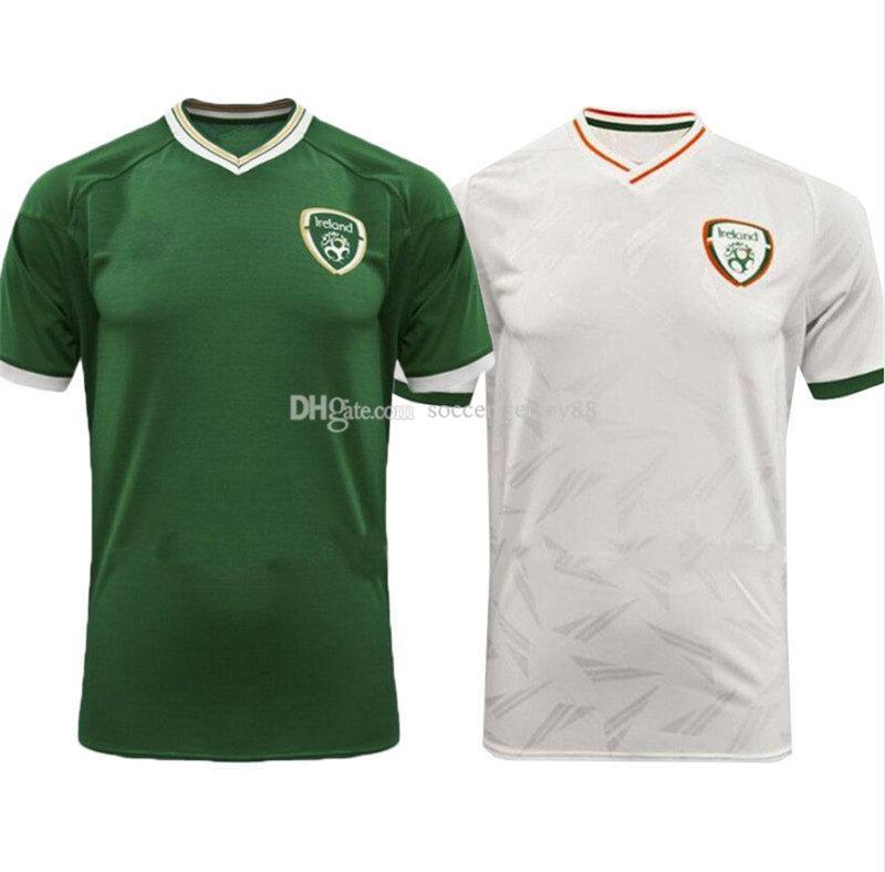 20 21 Irlanda Soccer Jersey 2020 2021 McGoldrick Home Away Away República de Irlanda Team Top Calidad Uniforme Jerseys Camisetas de fútbol