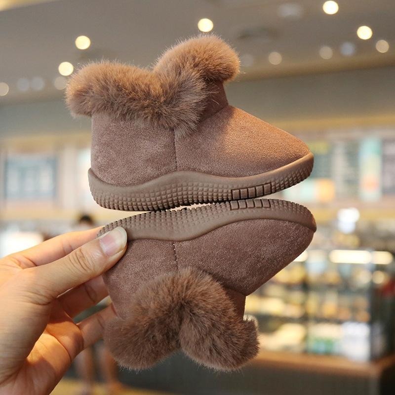 NPNW Bottes Bottes de neige chaudes Jeunes étudiants Neige Boots 2018 Garçons Real Australien G5821 Haute Qualité Enfants Nouveaux et filles Enfants Winter S