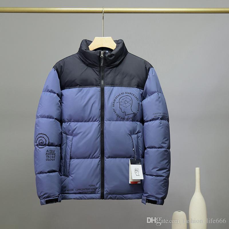 2020 Giacca da uomo di lusso Designer da uomo Piumino in giù Abbigliamento di alta qualità Inverno classico Giacca da uomo casual da uomo invernale