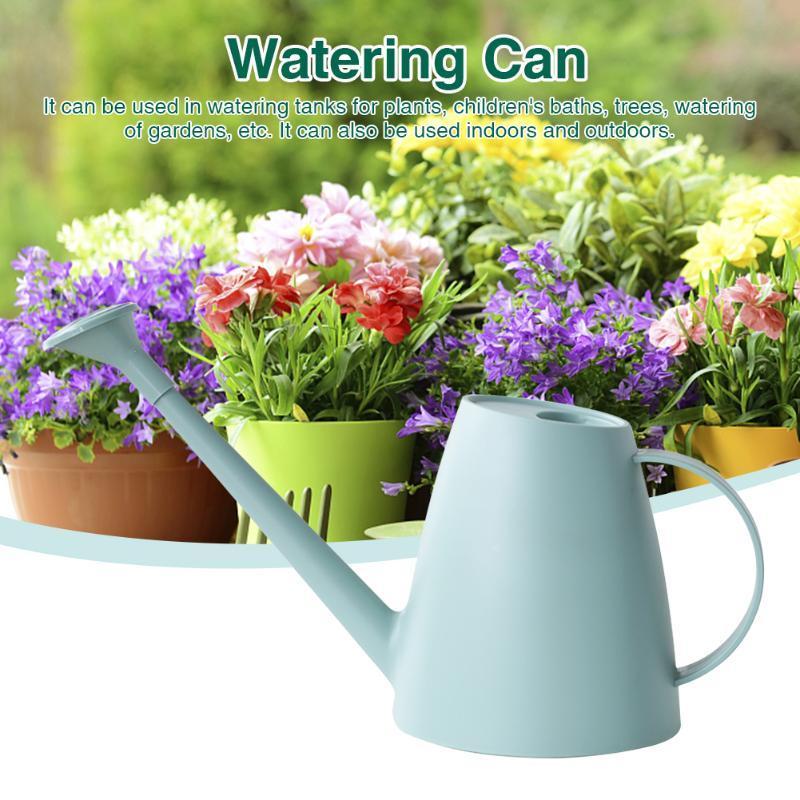 Equipos de riego 1.8L Hogar Portátil Flor de jardín Herramienta de boquilla desmontable Al aire libre Moderno Moderno Caño largo para plantas de interior PEP PEP RESIN