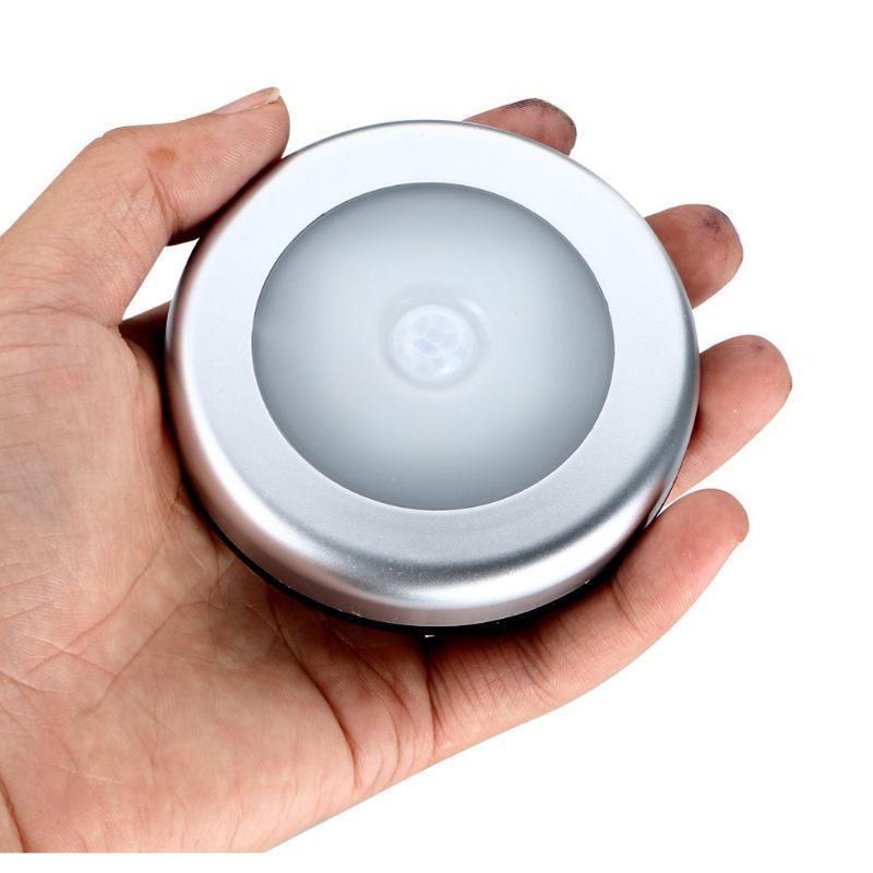 Luzes LED Body Body Indução Lâmpada Corredor Parede Night Luzes Circular Branco Amarelo Cores Fácil Instalar Inteligente Sensing Novo 8 5JX N2