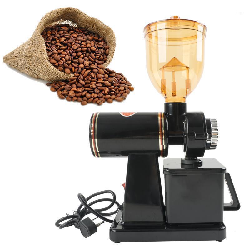 Moedores de café elétricos YTK 250G Pequeno moinho Bean Mill Commercial Produto Flat Burrs 220V 110V1