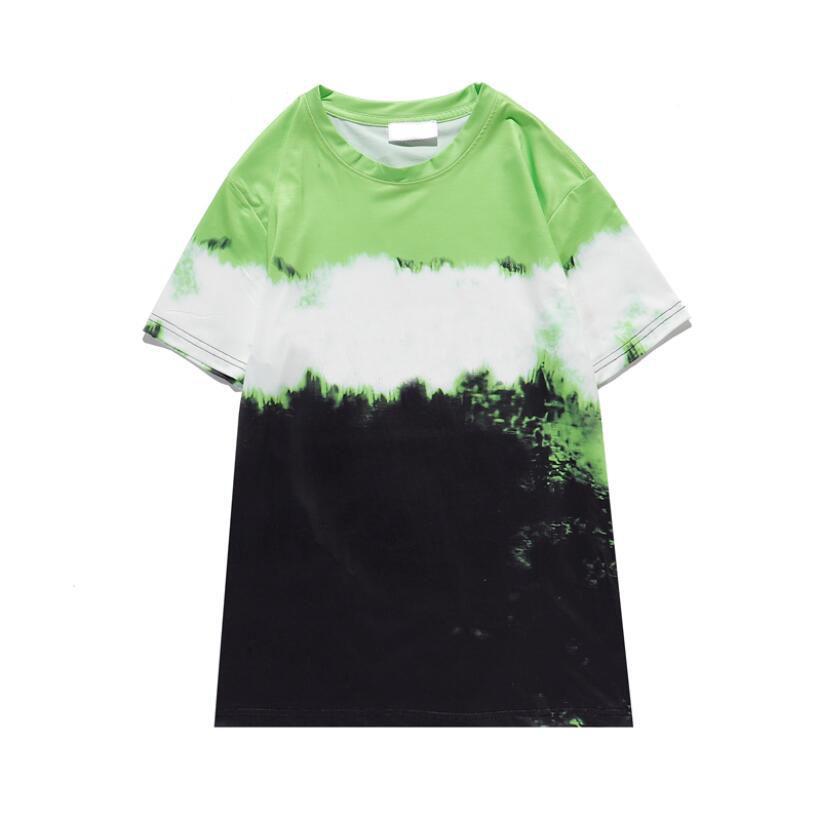 T-shirt da uomo Uomo Donna Stampa Lettera T Shirt T Shirt Green Red T Shirt T-shirt TEES M-XXL