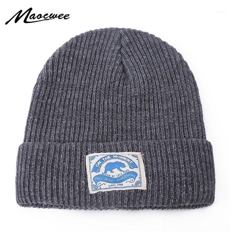 Inverno a maglia skullies berretti invernali stoffa pasta cappello morbido hip hop cappello per gli uomini donne berretti casual berretto cofano unisex solido tappo1
