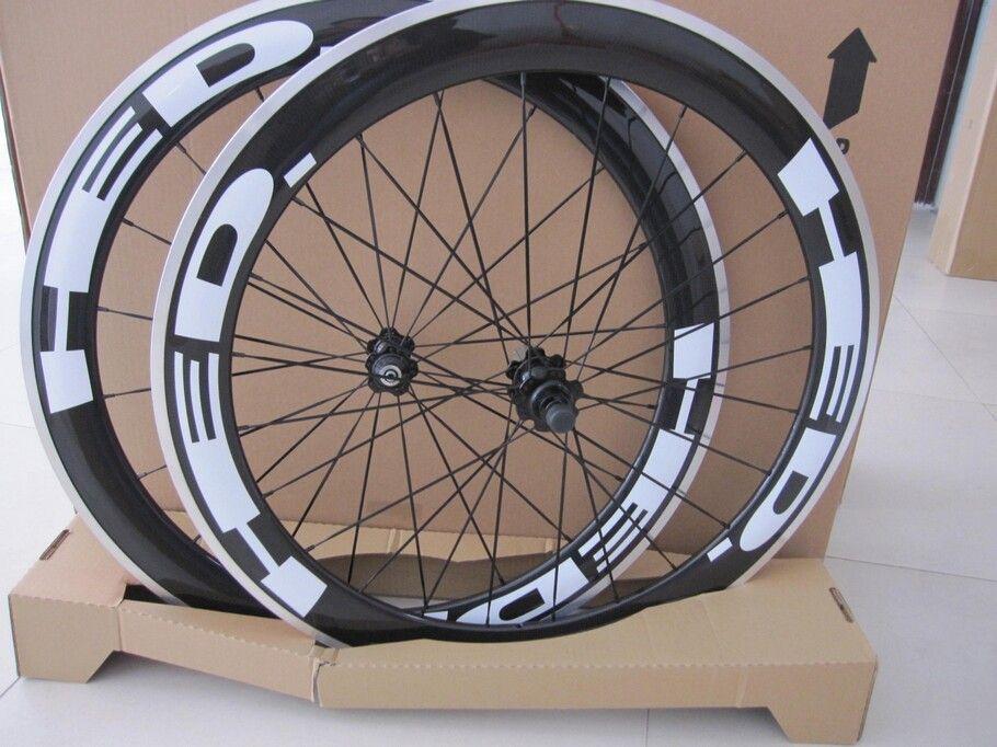 HED JET clincher bicycle Carbon Alloy wheels 700c Aluminum carbon fiber road bike racing wheelset 50mm