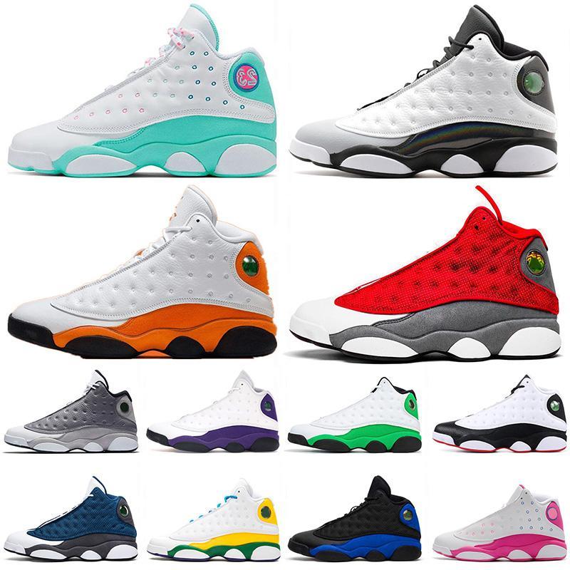 2021 Kutusu Nike Air Jordan Retro 13 Jumpman 13s Erkek Basketbol Ayakkabı Sıcak Satış SatenÜrdünRetro Hyper Kraliyet Spor Eğitmenleri Açık Sneakers