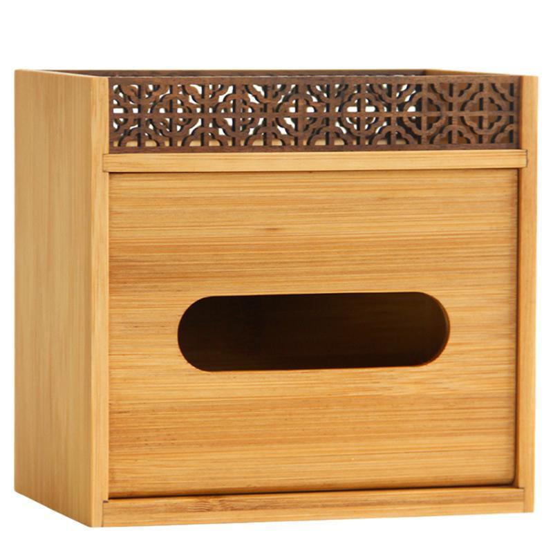 Масштабы тканей салфетки многофункциональная коробка креативная бумага хранения деревянный контейнер