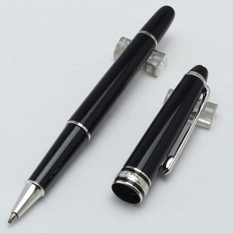 Kugelschreiber 163 Füllfederhalter-Stift-Rollenstifte / Kugelschreiber, fein laseriert auf dem Rhodium-beschichteten Au-Büro-Schule-Schreibstift.