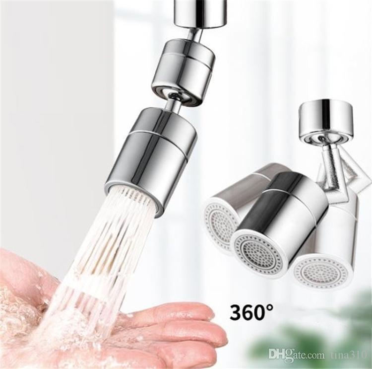 Cuisine Splash Filtre Filtre Robinet Filtre Rotatif Ménage Aérateur Aérateur de salle de bains Robinet de buse étendue universelle 9029