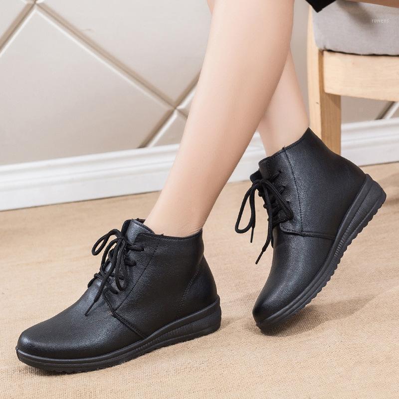 2020 Bottes Femmes Chaussures Femme Plateformes Bottes De Mode Femmes Platformes Chaussures Mesdames Femme1