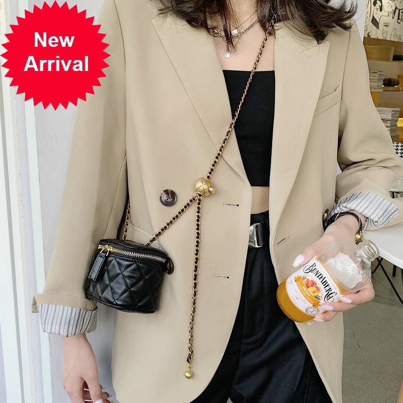 Magical2021 Mini Ruj kadın küçük koku transferi için zhulingge zincir crossbody kutusu çok yönlü moda bel çantası