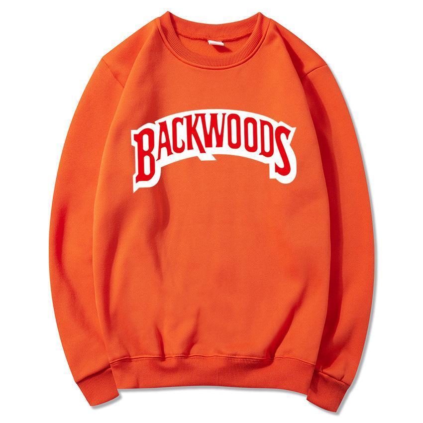 1 Backwoods Hoodie Bireysel Kaya erkek T-Shirt Kazak Mektup Baskı Moda Rahat Kazak Kazak Uzun Kollu Erkek Hoodies