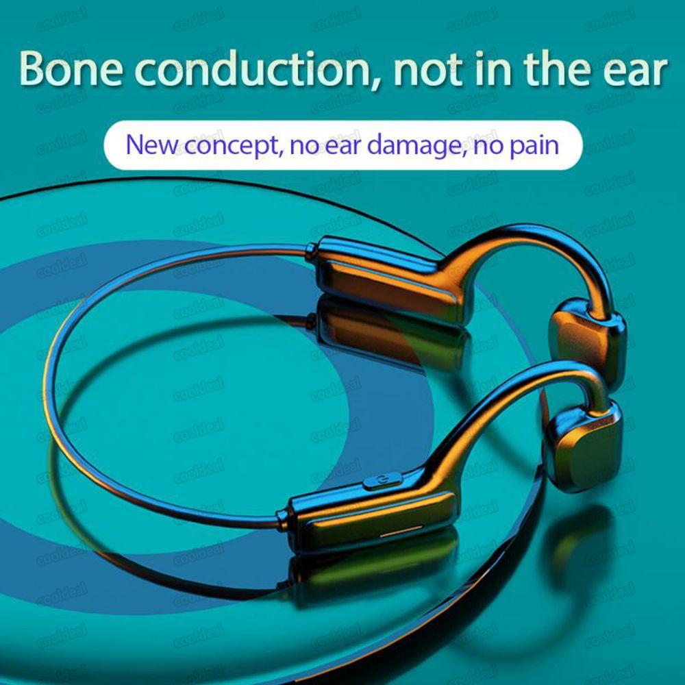 Non-in-ear G1 Bone Conduction Ear-mounted Earphones Headset Wireless Sport Earphone Waterproof Headphone Auricular 11 Free DHL