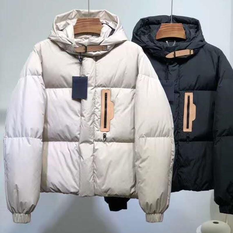 2020 Moda erkek Aşağı Parka Kadınlar Aşağı Ceket Palto Açık Sıcak Tüy Mont Doutoune Homme Unisex Ceket Giyim 1: 1 Orijinal