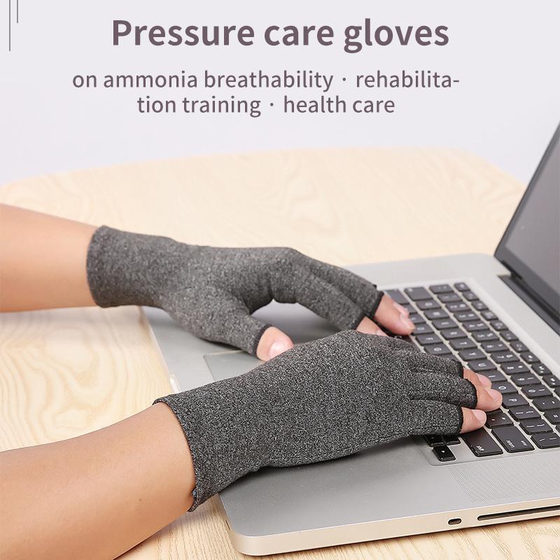 1 paio di artrite a mano Guanti terapeutici Compressione del terapeutico Unisex Grip Artritis Gloves Sport Palm Protect Poll Support