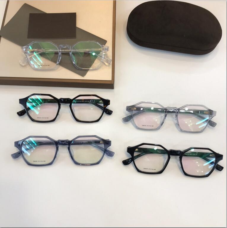 TF809 النظارات إطار واضح لينس رجل و إمرأة نظارات قصر النظر النظارات الرجعية oculos دي غراو الرجال والنساء قصر النظر النظارات إطارات