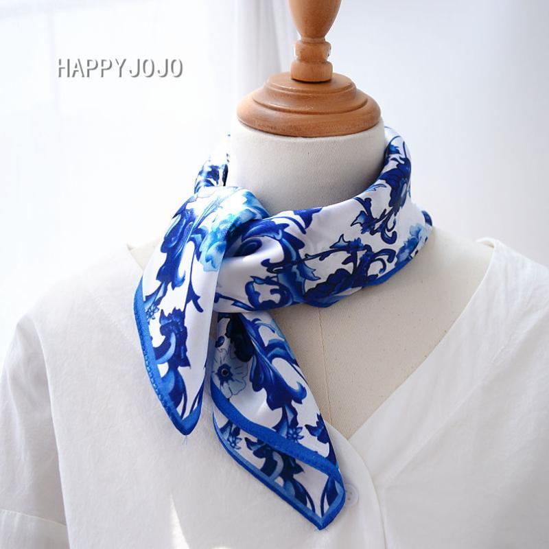 Chinois classique pictrue 100% naturel écharpe de soie pure 50 * 50 petits joli châle cou cadeau fichu foulard wrap carrés pour les femmes