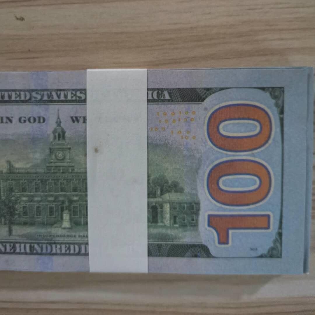 Copy Paper 100pcs/pack Fake Money Pretend Wholesale Paper Dollar Banknote Prop Money Bills New100 For Collection 01 Money Jnbjj