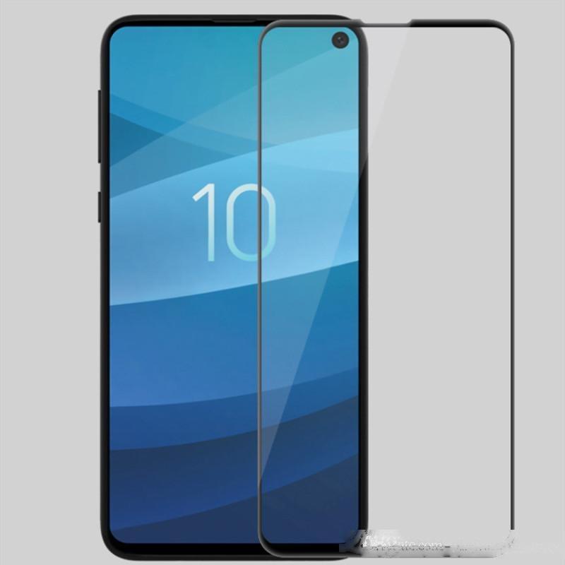 Case Friendly Glass Temperato per Samsung Galaxy S10 Plus S10E S10 3D Caso curvo Versione Protezione schermo telefono con confezione al dettaglio