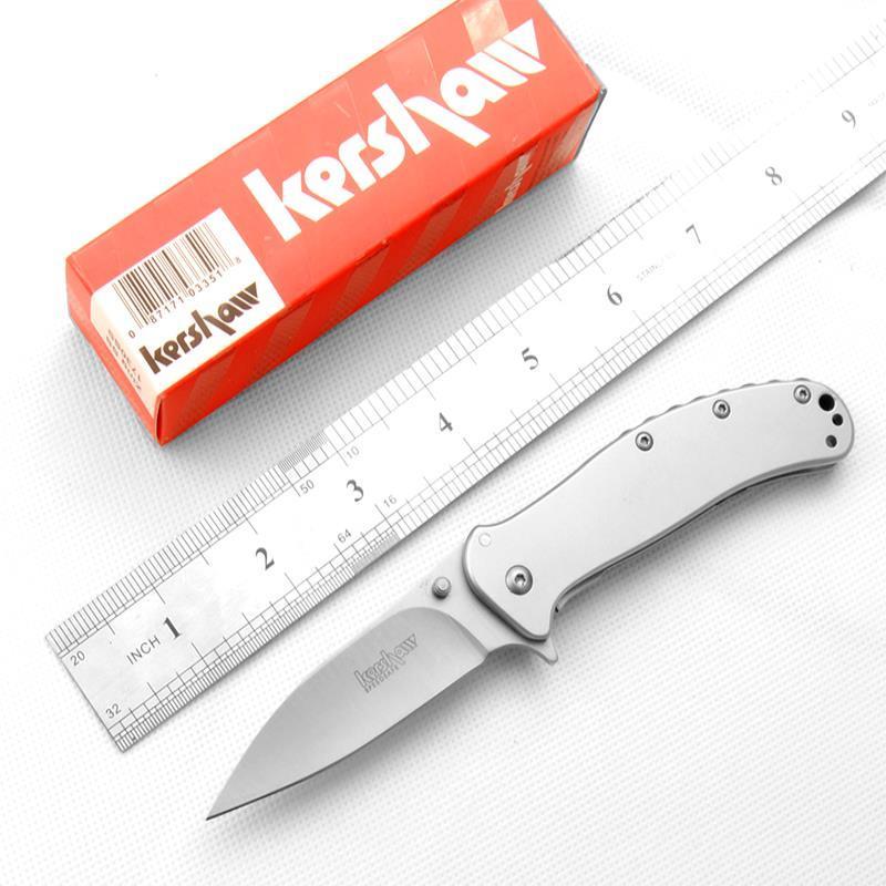 Non Kershaw 1730 SS Pieghevole Shippiing Shippiing Lock8Cr17Mov Blade Coltello Qualità Scatola originale all'ingrosso coltello da tasca all'ingrosso il prezzo più basso lato OEM DR GOXU