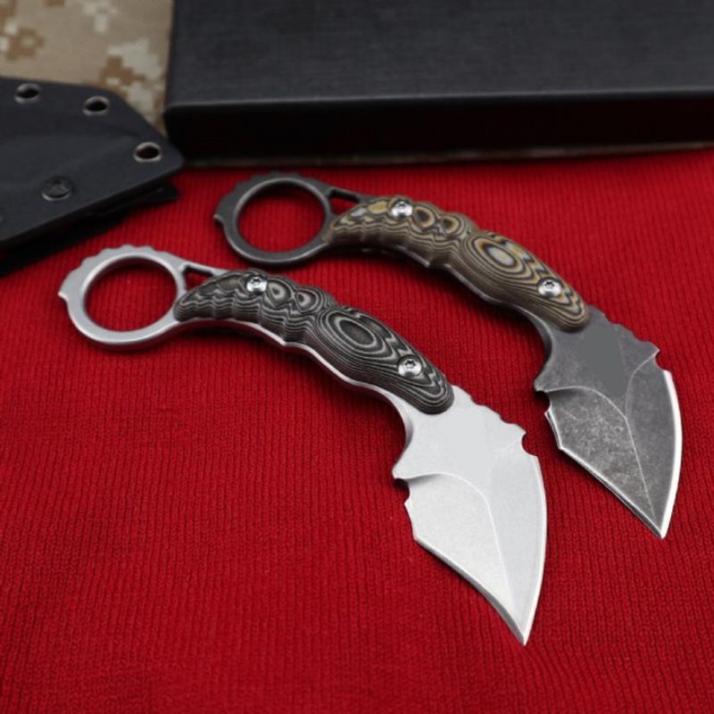 Karambit EDC складной оптом кемпинг инструмент для кемпинга нож Highight Toothuppler Browing Tactical Quality нож карманный инструмент нож 02 afdxk