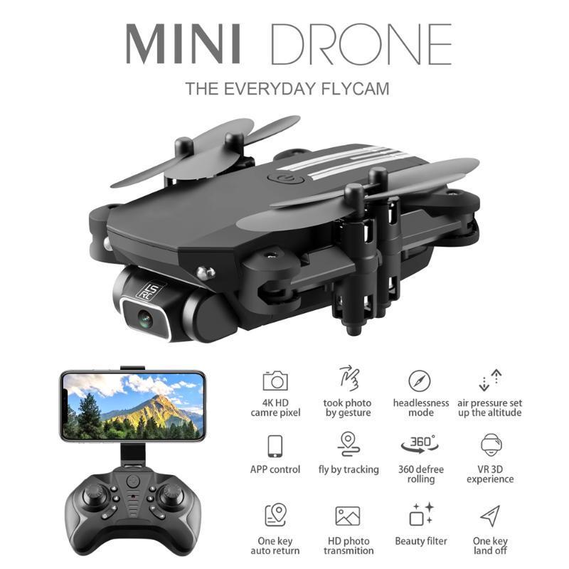 ZK30 WiFi FPV / Mini Drone 4K PRESESESION DRONE с камерой HD 4K широкоугольный уклон HIGHT RC вертолет RTF складная игрушка