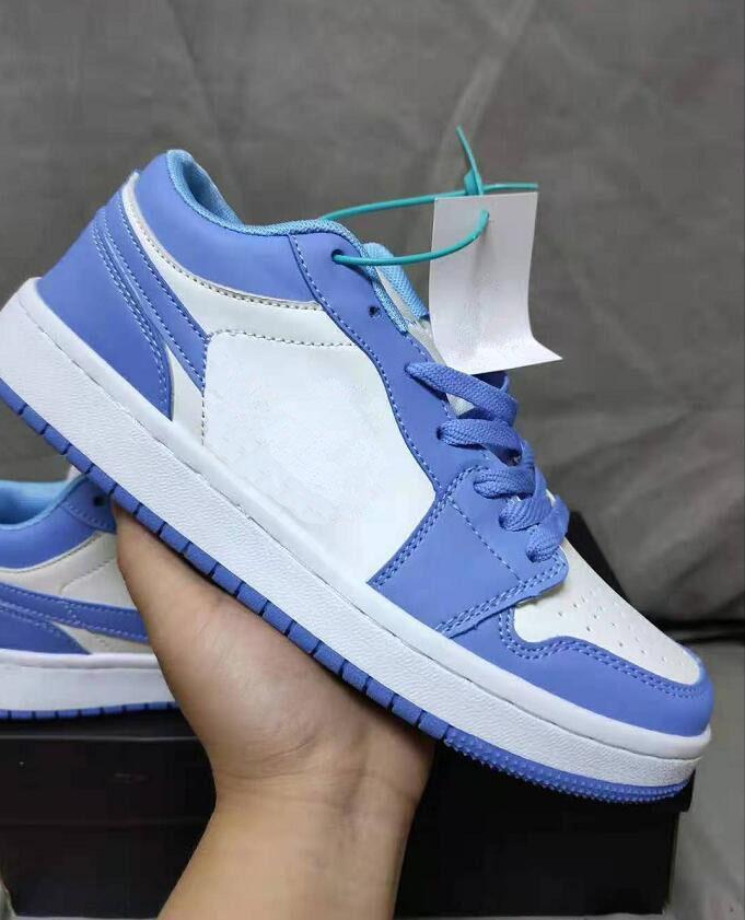 Klasik Sneakers Kaykay Ayakkabı Erkekler Kadınlar için Düşük Kesim Deri Rahat Açık Bir 1 Dunk Ayakkabı Unisex Zapatillas Eğitmenler 36-44