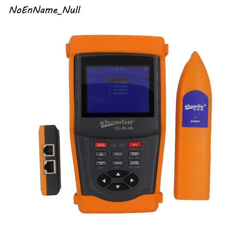 Faseroptikausrüstung Network Tester SML-VLS 3.5in LCD-Display Multifunktionale Überwachung CCTV Analysatoren Wire Tracer Chinesisch