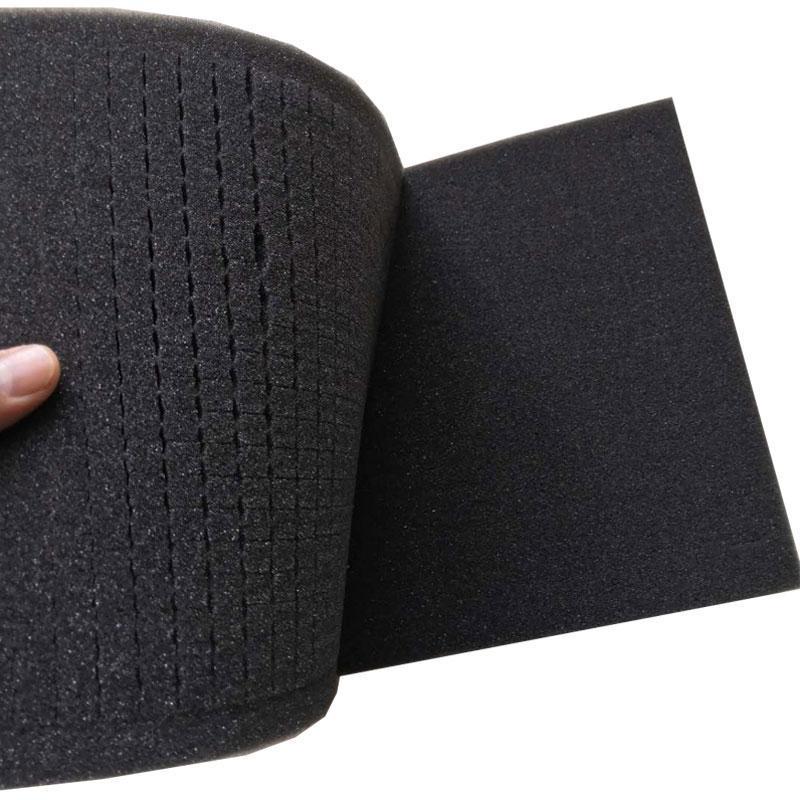 300x300x25mm taglio facile raccogliere schiuma colga per cassetta portautensili, senza contenitore plastico duro