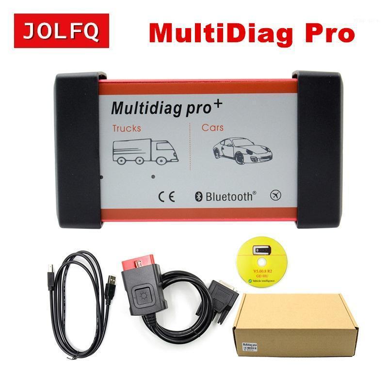 2020.r3 multidiag pro + for سيارة أداة تشخيص شاحنة multiTiag OBD2 الماسح الضوئي مع / بدون بلوتوث تفعل المزيد من السيارات / الشاحنات الماسح 1