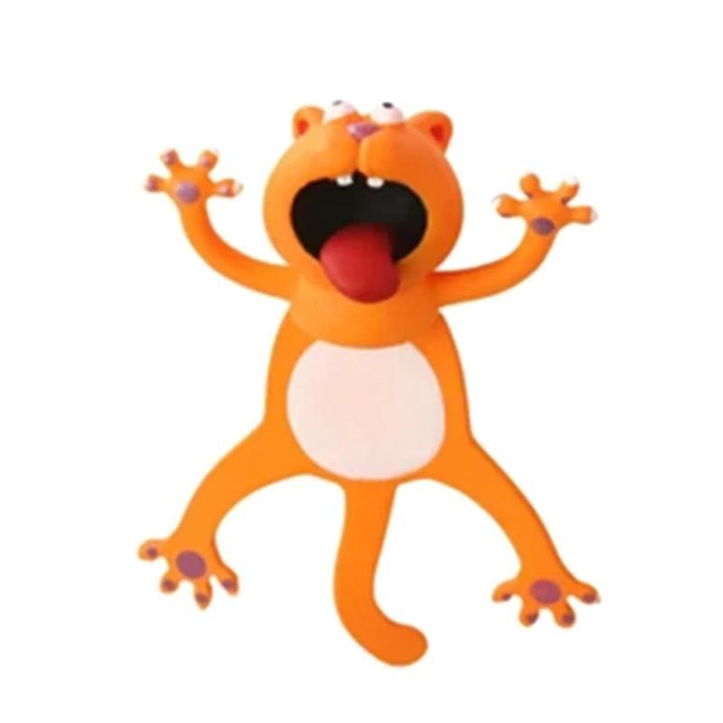 Wacky-Lesezeichen für mehr Spaß lesen 3D Stereo-Cartoon Schönes Tier Lesezeichen Wacky Schul-Schreibwaren Kinder Geschenke