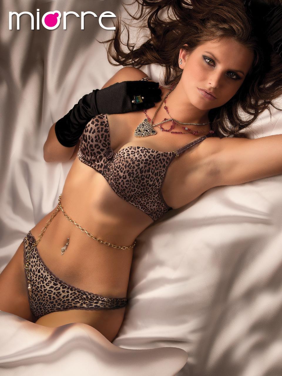 Роскошный толчок 2 штуки леопард сексуальный бюстгальтер и белье для женщин с кружевом - эротическое белье трусики - Fantasy Langeriex1122