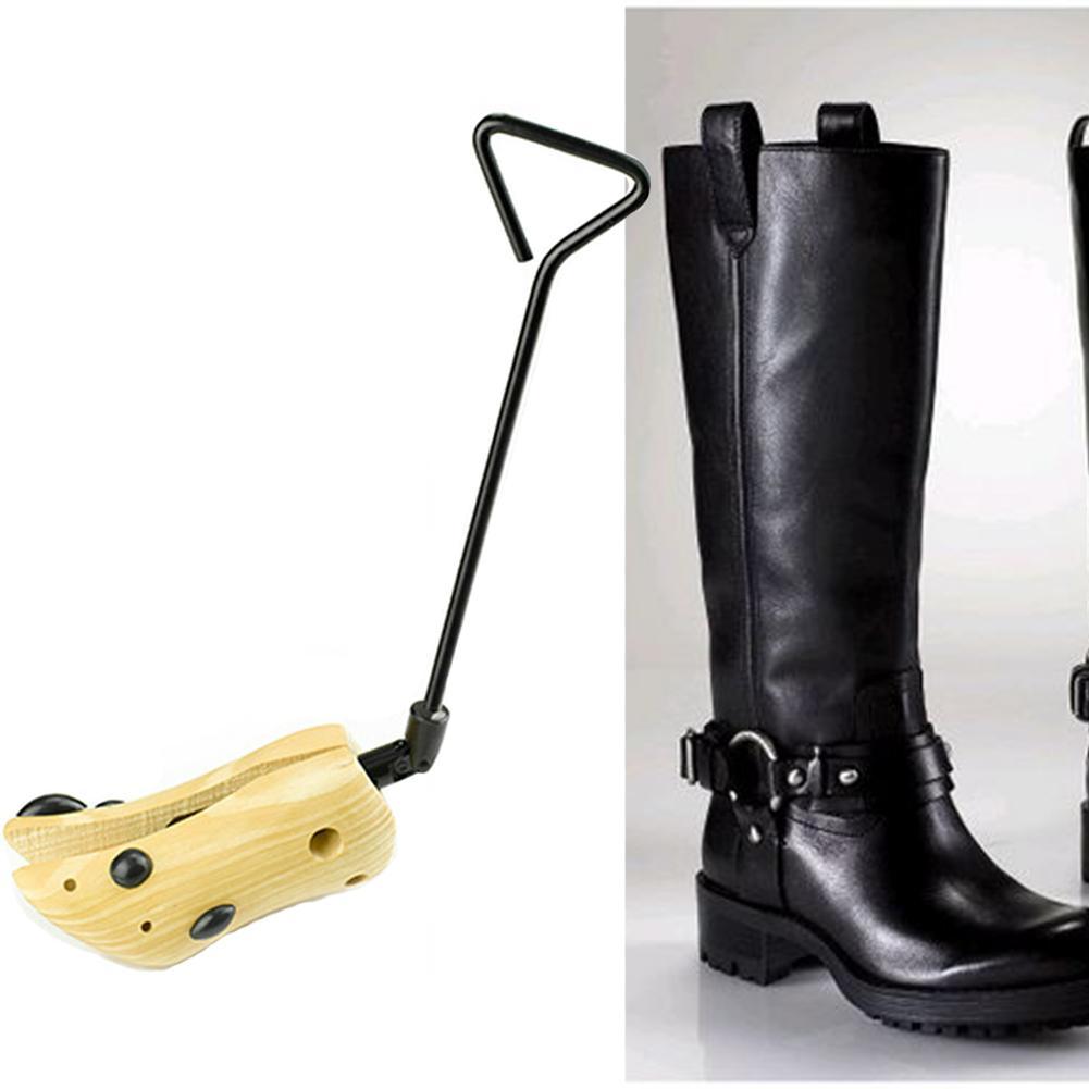 Botas expansor de flexión de la grieta de madera Tacones altos unisex práctica universal ajustable longitud del zapato Camilla Soporte Holder Guardián