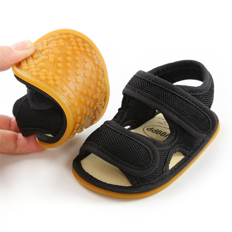 New Summer Sandals For Baby Girls Soft Sole Toddler First Walkers Toddler Girl Shoes Baby Boy Flat Sandales Crib Shoes Y201028