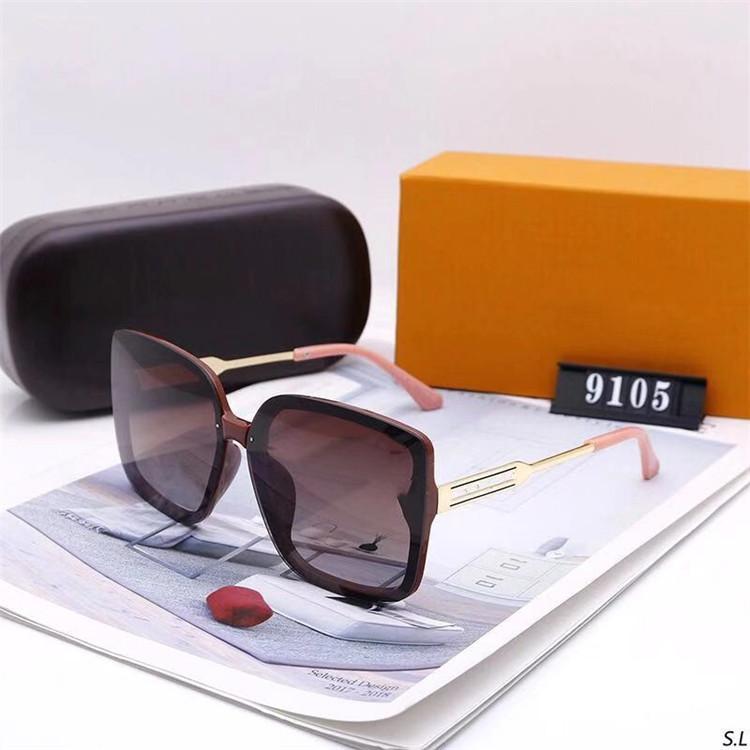 2021 디자이너 럭셔리 선글라스 세련된 패션 고품질 Mens Womens UV400.A4에 대 한 편파