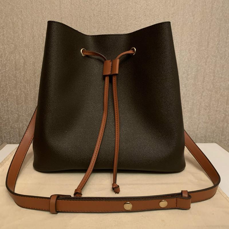 Moda Sıcak Satılan Luxurys Tasarımcılar Neonoe Kova Çanta Çantalar Kadın Tote Marka Mektubu Hakiki Deri Omuz Çantaları Crossbody Çanta