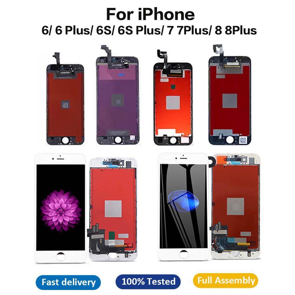 아이폰 6 6S 7 8 플러스 터치 스크린 교체 LCD 디지타이저 디스플레이 어셈블리에 대한 최고의 품질의 LCD 디스플레이
