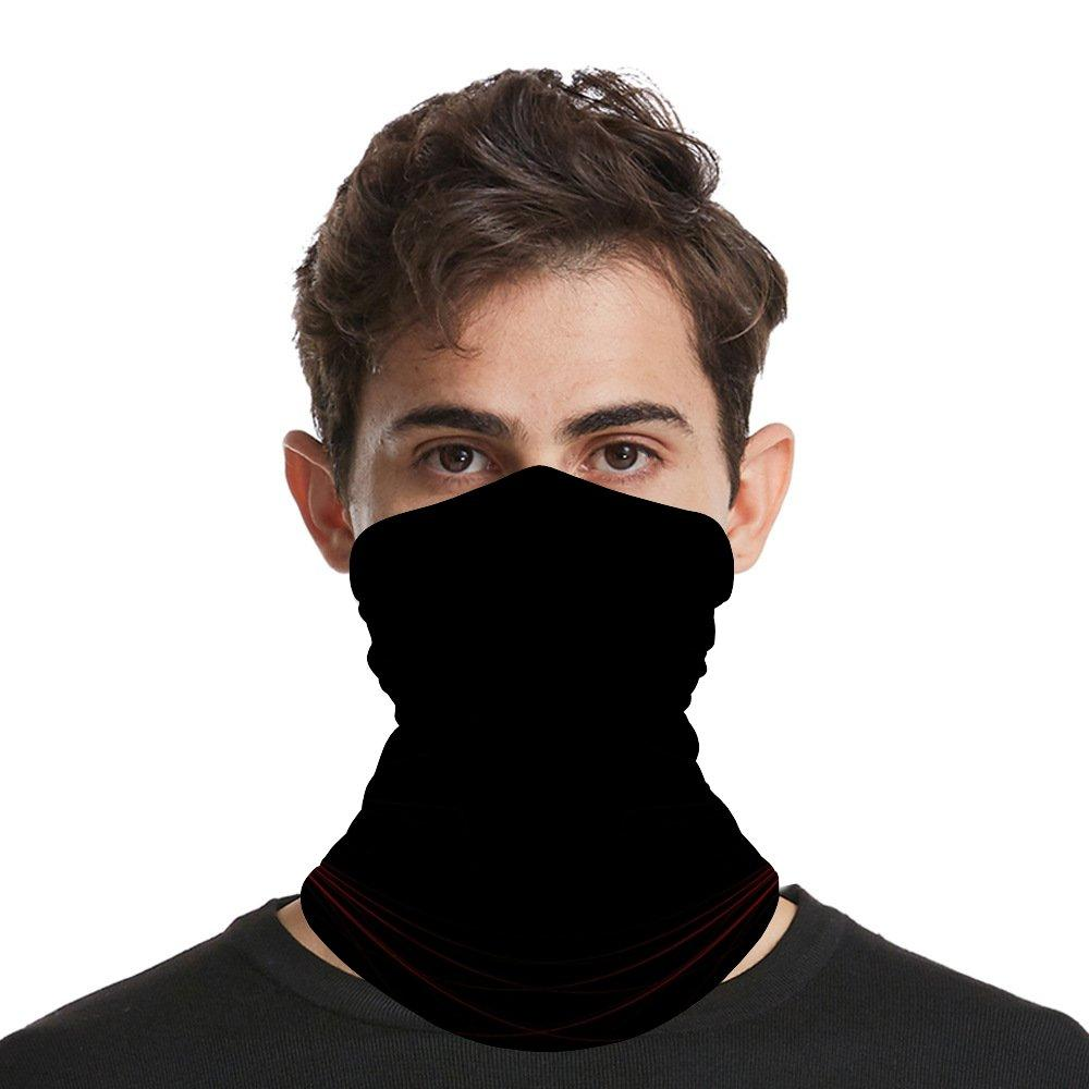 Seamless Bandana Face Mask Neck Gaiter for Dust Wind Sun Protection Cooling Mouth Mask Dust & UV Sun-Protection Head Wrap Balaclava Women Me