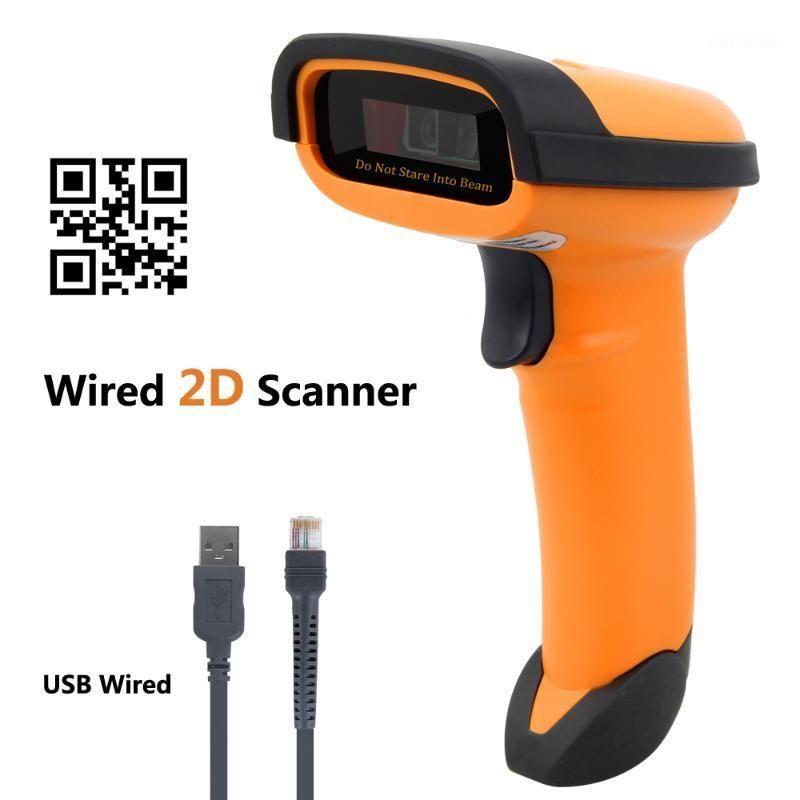 NT-1228 проводной 2D QR сканер штрих-кода портативный автоматический считыватель штрих-кода / Imager (QR, PDF417, матрица данных) с USB-кабель Netum1