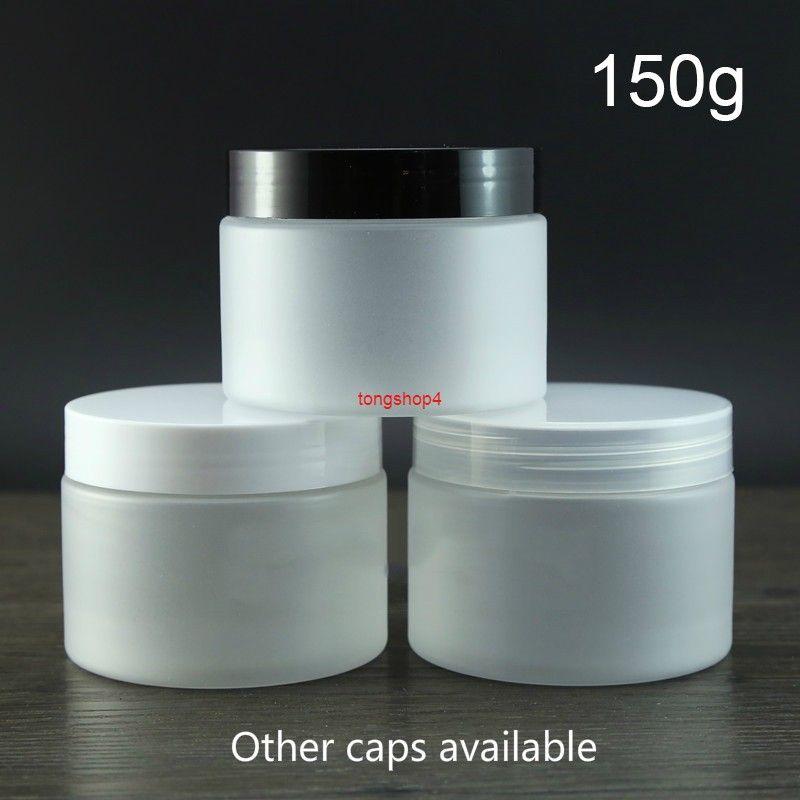 150g plastica opaca vuota vaso vuoto cosmetico frost bottiglia riutilizzabile corpo lozione zucchero spezia caramelle biscotto da viaggio containergood qualità