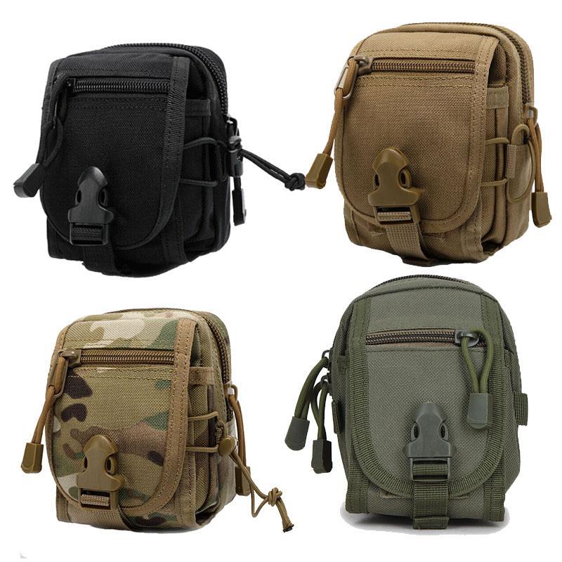 Sports de plein air Airsoft Gear Molle Assault Combat Combat Housse de randonnée Accessoire Camouflage Pack Tactical Kit Pouch N ° 11-718