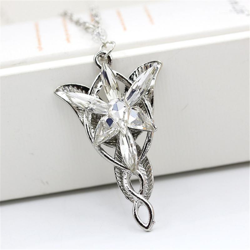 Chokers Fashion The Rin GS Ожерелье Вечернее звезда Подвесной Кристалл для Женщин Мужской Подарок1