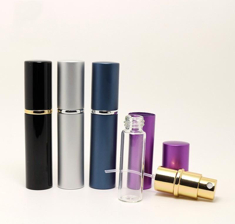 5ml mini spray frasco frasco recarregável recarregável cosmético recipiente de desinfecção, orvalho puro, atomizador jllwtd lajiayard