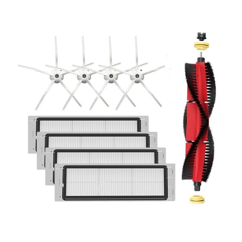 9шт робот вакуумный очиститель HEPA фильтры основные кисти аксессуары для роботоров S4 S5MAX робот