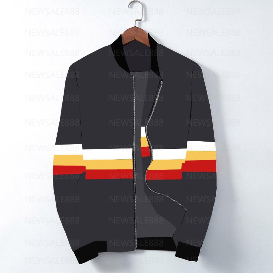 2020 Новая мода бренд куртка мужчины зимняя осень осень тонкий подходит мужская дизайнерская закупка для молнии одежда красные мужчины повседневная куртка SLIM PLUS M-3XL