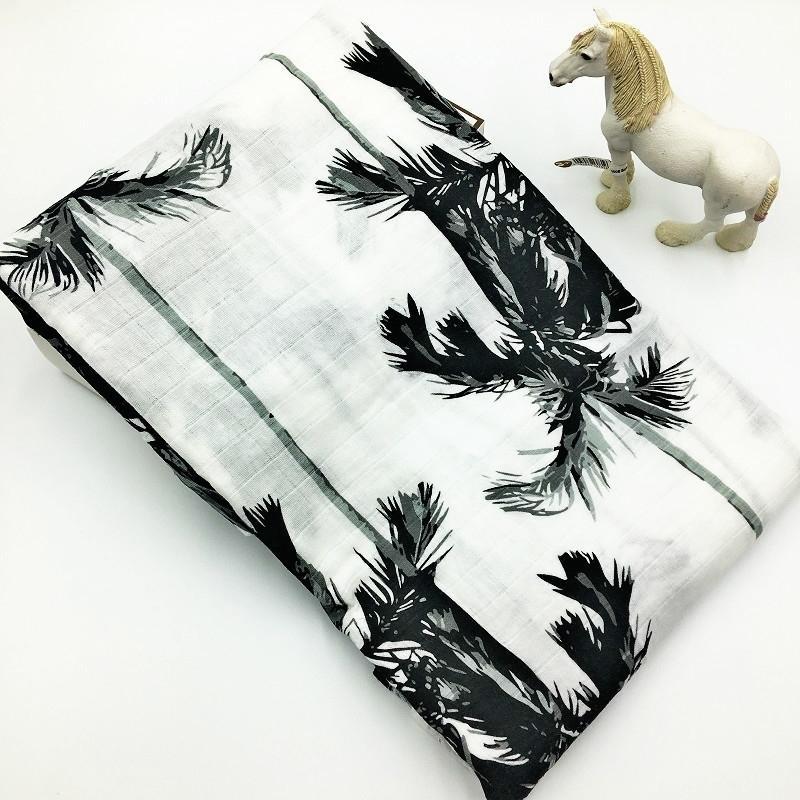 100% Baumwolle Muslin Baby Decken Weiche Atmungsaktive Swaddel Für Neugeborene Multifunktions Decke Baby Wrap Bettwäsche Swaddling Y200109