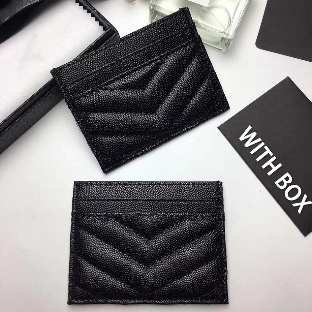 Neue hochwertige Männer Klassische Casual Kreditkarteninhaber Rindsleder Ultra Slim Brieftasche Packet Tasche Für Mans Frauen 10,5 * 7,5 * 0,5 cm