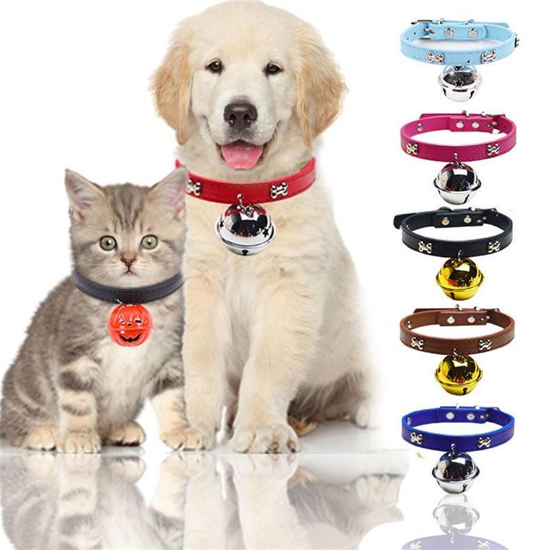 Kemik Yaka Büyük Çan Çevre Dostu Yaka Pet Köpek Güzel Aksesuarlar Evrensel Kırmızı Mavi Siyah Renkler ile Popüler 2 9gg J1